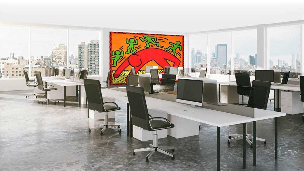 NEW/ACOUSTIC - Canvas voor akoestische plafonds